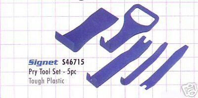 Signet Door Liner Trim Removal Plastic 5 Piece Pry Set