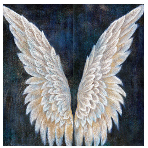 Angel Wings 5D DIY Full Round Drill Diamond Painting Digital Crafts Home Decor