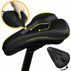 Soft Comfort Saddle Bike Road Mountain MTB Gel Bicycle Cycling Seat Cushion Pad