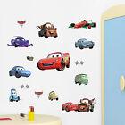 Disney Pixar Cars Peel Stick Wall Bedroom Kids Children Stickers Decal Boys Car