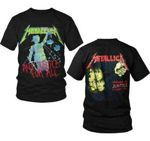 Metallica-And-Justice-for-All-Shirt-S-XXL-Official-T-Shirt-Metal-Band-Tshirt