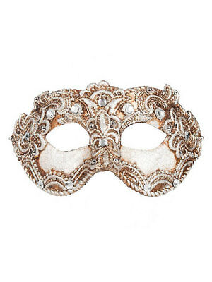 "Colombina /""1//2 Macrame/"" Venezianische Maske Karneval Venedig"