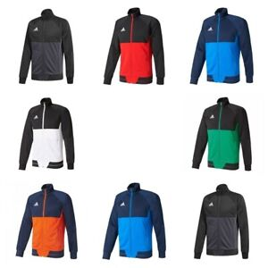 Adidas-Tiro-17-Mens-Training-Jacket-Track-Top-Jumper-Gym-Football-Sweatshirt