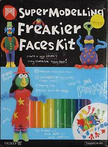 Plasticine-Modelling-Clay-funny-face-making-Set-12x-colours-how-to-make-kit
