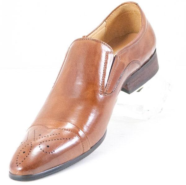 vendita di offerte CK1462 Chris Kaadu Kaadu Kaadu Uomo Dress Comfort scarpe Loafer Marrone  vendita calda