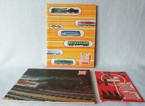 2 Catalogues 1974 / 1976 Et Une Notice Jouef Matic Jouef Trains Et Circuit 24