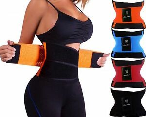 70cbd3af01b Image is loading Slimming-Fitness-Thermal-Waist-Belt-Trainer-Cincher -Training-