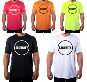 Details about Security T-shirts| Event Safety Guard Shirts, Work Uniforms  For security Guards