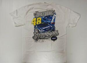 Jimmie Johnson #48 Lowe's 2006 NASCAR T-shirt w/ Pocket!  Size Adult (L) Large