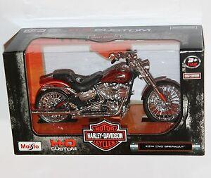 Maisto-Harley-Davidson-2014-CVO-Breakout-Escala-Modelo-1-12