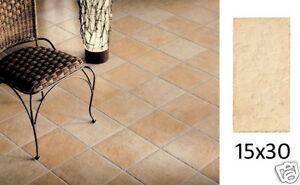 Piastrelle per pavimento rustico effetto cotto sfumato fiordo