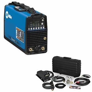Miller-Dynasty-200DX-AC-DC-TIG-Welder-w-Foot-Control-contractors-Kit-951174