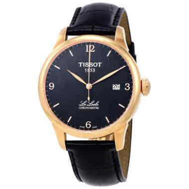 TissotLe Locle Automatic COSC Black PVD Men's Watch