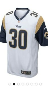 Todd Nwt Los Tama Hombres Ii Nike 30 Home Rams o Peque Gurley Angeles o Jersey Game gTdTSRA