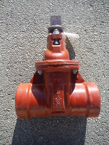 Clow Fire Main Gate Valve Resiliant Wedge Valve C509 Rw 4