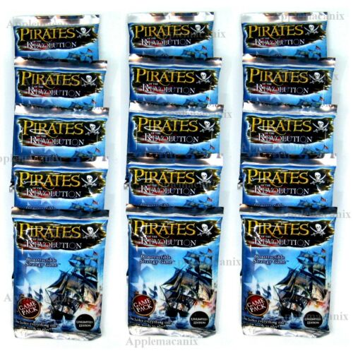 15 Wizkids Pirates of the Revolution Booster Game Packs Pocketmodel CSG NEW