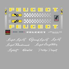Peugeot PX10, PY10 Bicycle Stickers - Decals - Transfers - n.0353