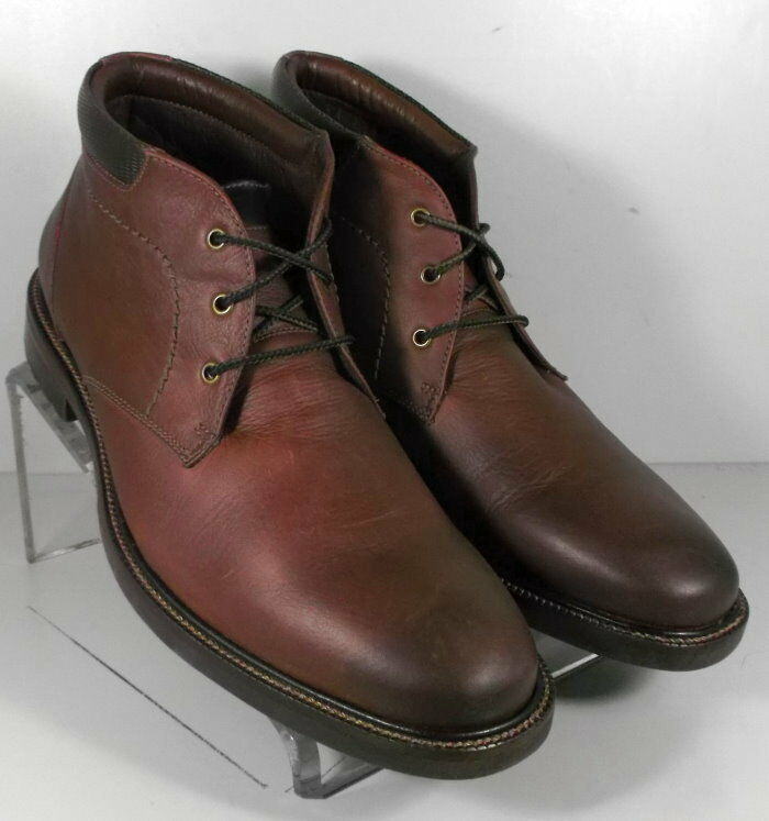 271263 5-ESBT50 Men's Boots 11.5 M Whiskey Leather 1850 Series Johnston Murphy