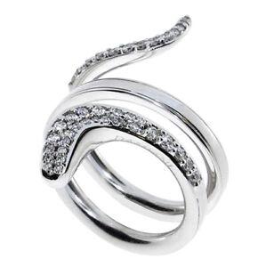 a basso prezzo f5f05 f8a08 Dettagli su DAMIANI anello Eden Oro bianco e diamanti 20063537