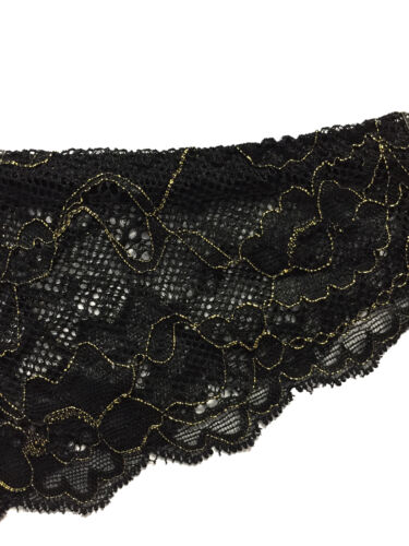 S Hunkemöller Damen Unterhose Spitze Brazilian Slip Rosie braz lurex s Größe