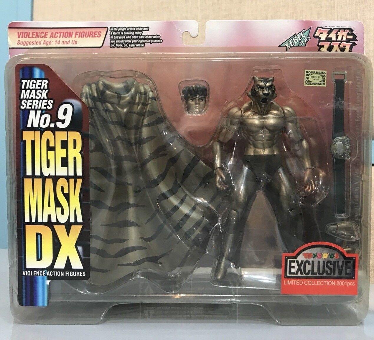 RARE KAIYODO Tiger Mask DX Violence Action Figures Tiger Mask Series No.9