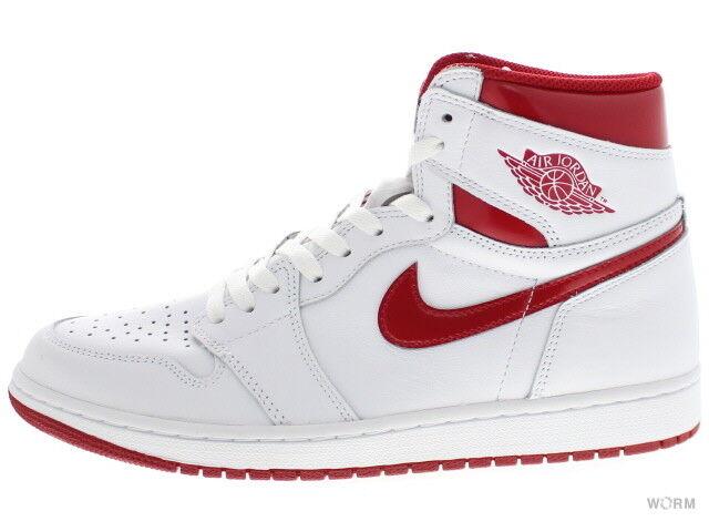 AIR JORDAN 1 RETRO HIGH OG 555088-103 white varsity red 1 Size 11