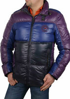 Napapijri Men's Winter Jacket Down Violet Sabac Size L Rif035