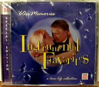 Time Life Music Cd 60s/60's Memories Instrumental Favorites Paul Mauriat/more
