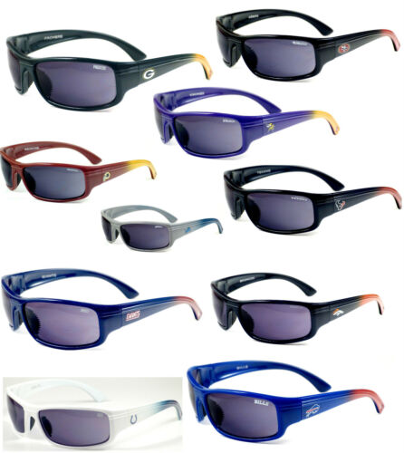 Pouch Incl Limited Quantities Various Teams NFL Licensed Block Sunglasses