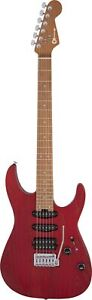 Charvel pro-MOD dk24 HSS 2pt cm Ash, caramelized Maple Fingerboard, Red Ash
