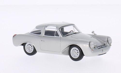 BOS-Modelos 1 43 Porsche Glöckler 356 Coupe, argento 1954