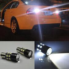 2x Error Free LED Reverse Back up Light project Bulb For Bmw E90 2005-2008 pre