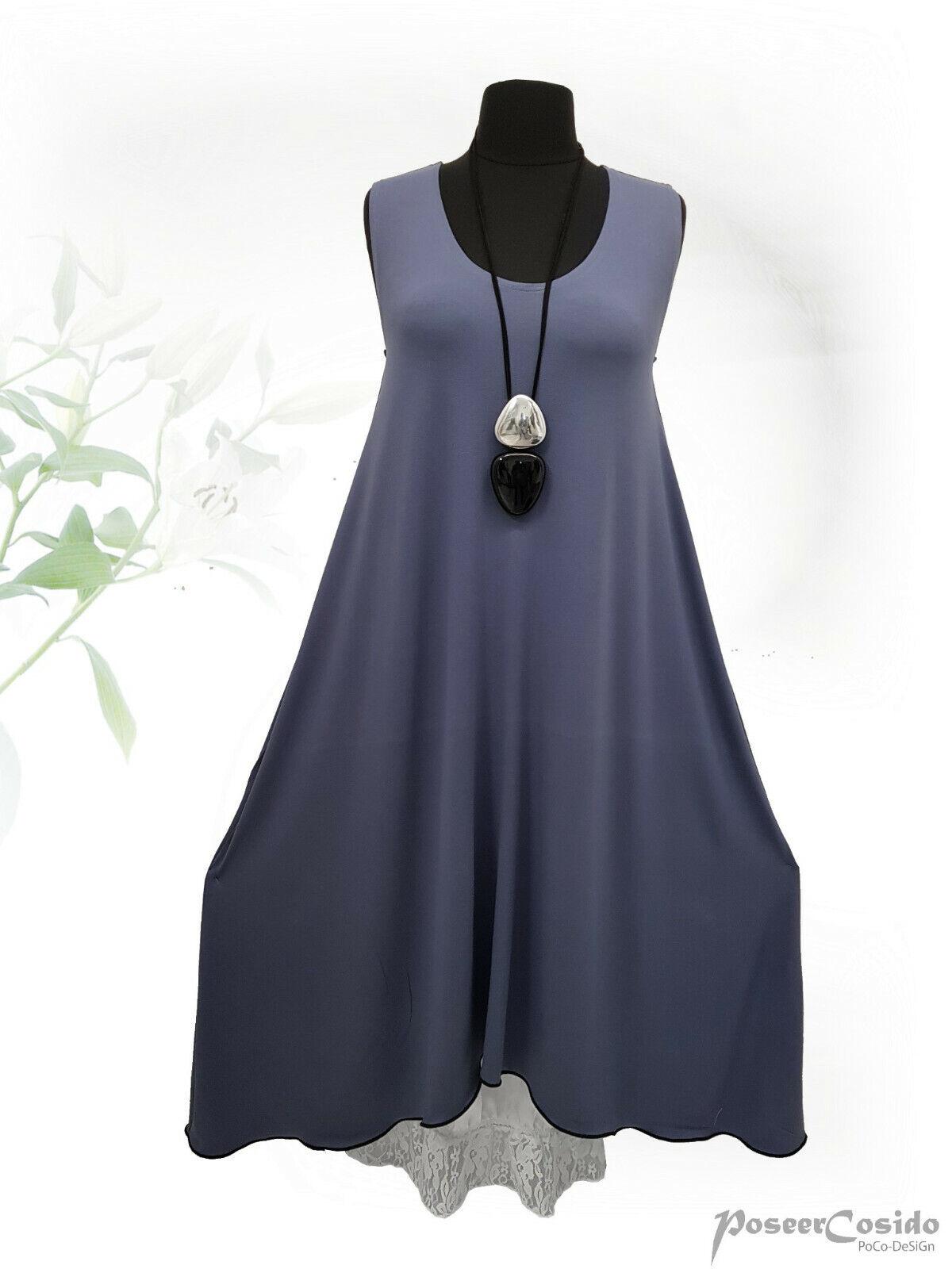 PoCo DeSiGn LAGENLOOK Dream° Top Zwischenteil Long-Shirt Kleid  L-XL-XXL-XXXL