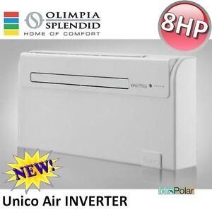 NUOVO-CLIMATIZZATORE-UNICO-AIR-INVERTER-8-HP-OLIMPIA-SPLENDID-POMPA-DI-CALORE