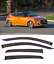 For-Hyundai-Veloster-2011-2017-Window-Side-Visors-Sun-Rain-Guard-Vent-Deflectors thumbnail 1