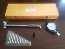 Fowler Bowers Dial Bore Gage Gauge Kit 2 6 Depth With Wood Case
