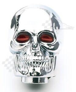 Mr-Gasket-9628-Chrome-Skull-Gear-Shift-Shifter-Knob