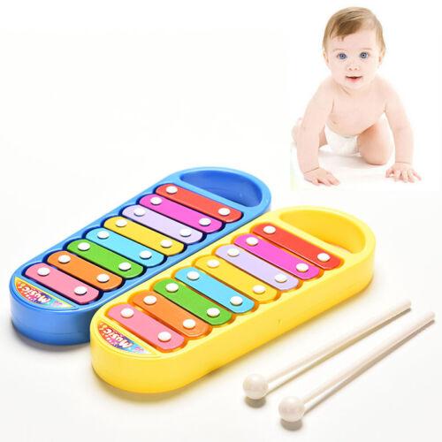 Holzspielzeug KinderMusikinstrument 8Note Xylophon ToyWisdom.Entwicklung Geschenk SpielzeugTPI