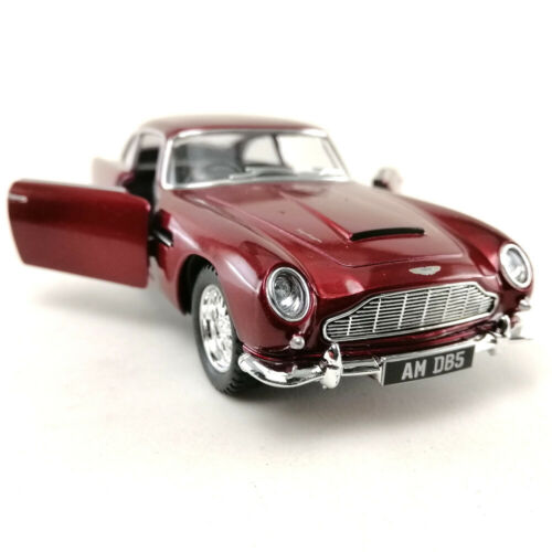 1963 Aston Martin DB5 Kinsmart 1:36 DieCast Model Toy Car Hobby Collection Red 2
