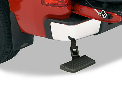 3500 AMP Research 75306-01A Black Bumper Mounted Bed Step for Ram 1500 2500