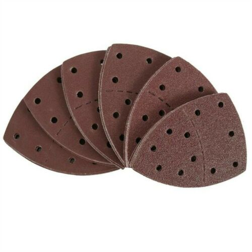 Pads Abrasive Paper Detail Palm Sander Mouse Sanding Sheets For Bosch PSM 100A