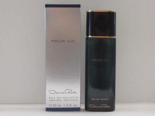 Pour Lui by Oscar de La Renta For Men 1.6 oz Eau de Toilette Spray In Box Sealed