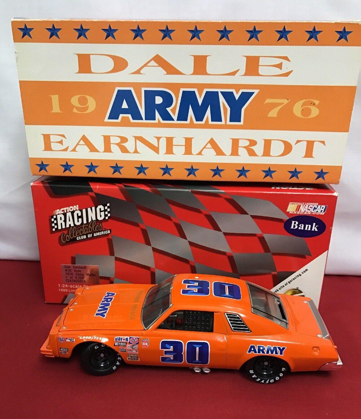 online economico Dale Earnhardt  30 Army  76 Chevy Chevy Chevy Malibu azione RCCA 1 24 CWB 1 of 4000  godendo i tuoi acquisti