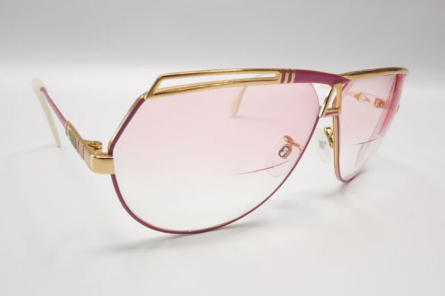 138b5e75fa2c Vintage Cazal Mod 954 COL 359 67  19-130 Pink White Gold Rx