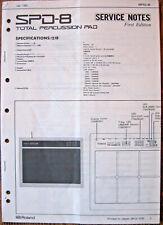 Nieuw Roland Spd-8 Percussion Midi Trigger Drum Pad SPD8 EMS Tracking VH-82