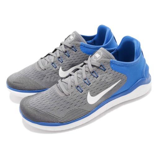Free 2018 Bleu Baskets Rn De Chaussures Blanc Run 942836 Hommes Gris Nike 008 Course ZnxHdARA