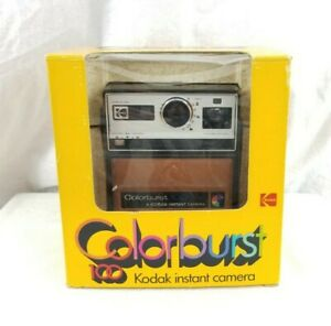 1978 Vintage Kodak Colorburst 100 Instant Polaroid Camera w/ Box & Manual - RARE