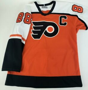 Authentic-NHL-Hockey-Jersey-Philadelphia-Flyers-Eric-Lindros-Captain-88-CCM