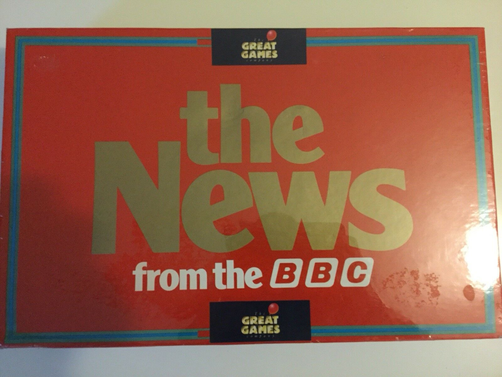 Mega Rare Vintage Board Game The News From The BBC 1987 Must See Wow