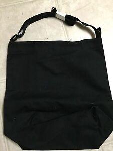 f3cafa080f NWT BAGGU DUCK BAG Black SHOULDER SHOPPER TOTE HANDBAG Canvas New ...